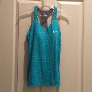 Nike top with built in bra